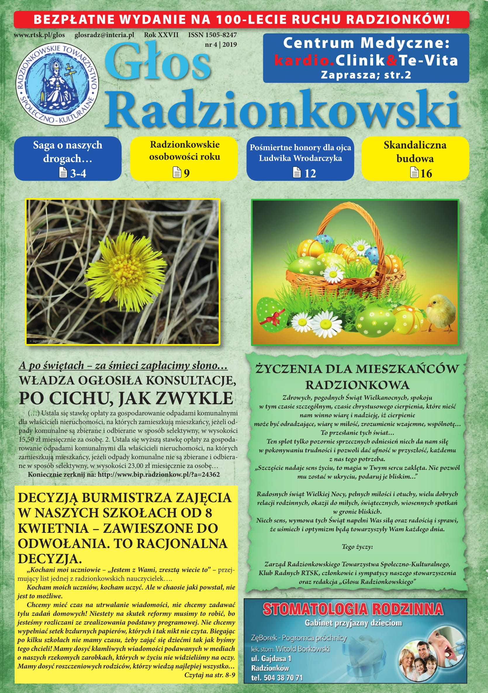 Głos Radzionkowski nr 01/2019