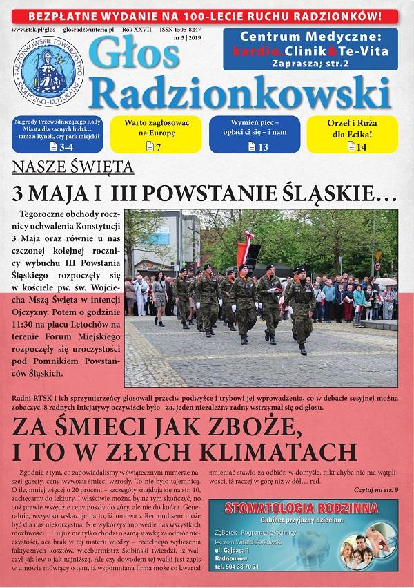 Głos Radzionkowski nr 05/2019