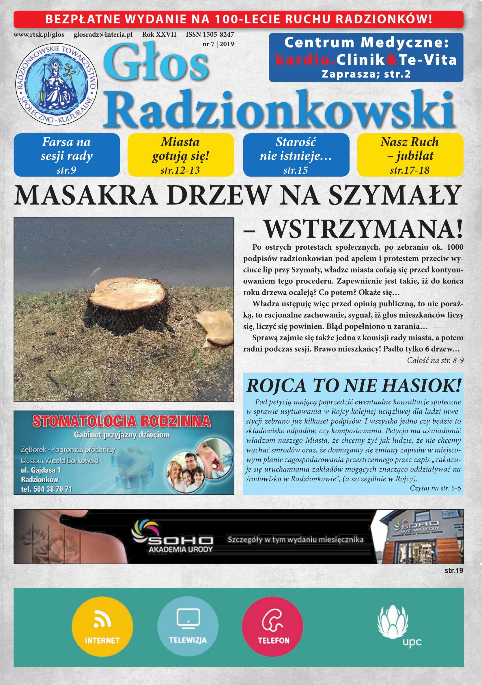 Głos Radzionkowski nr 07/2019