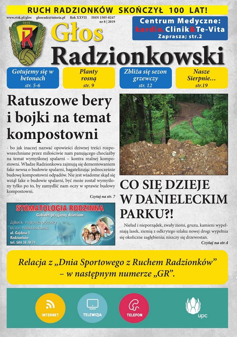 Głos Radzionkowski nr 08/2019