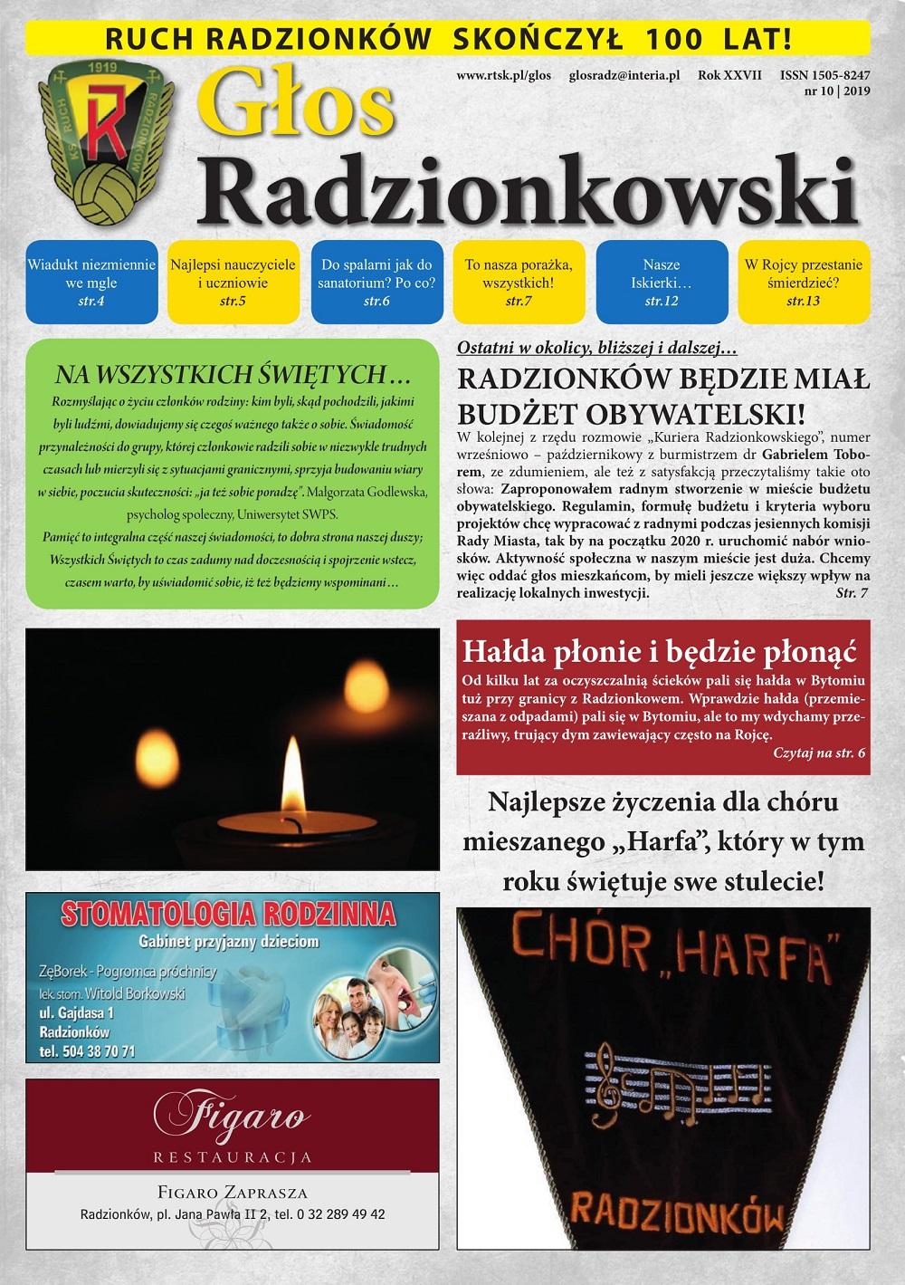 Głos Radzionkowski nr 10/2019