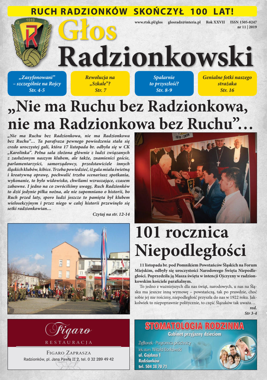 Głos Radzionkowski nr 11/2019