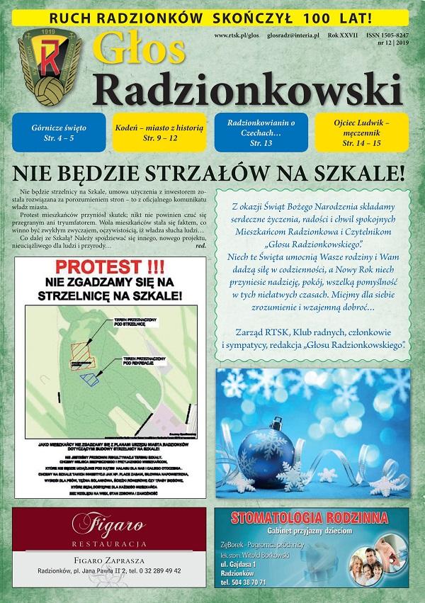 Głos Radzionkowski nr 12/2019