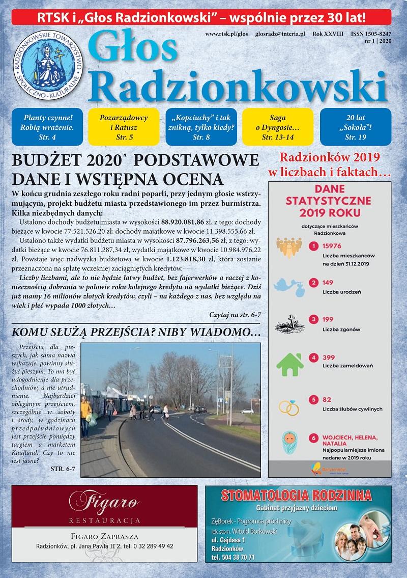 Głos Radzionkowski nr 1/2020