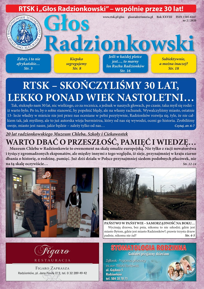 Głos Radzionkowski nr 2/2020