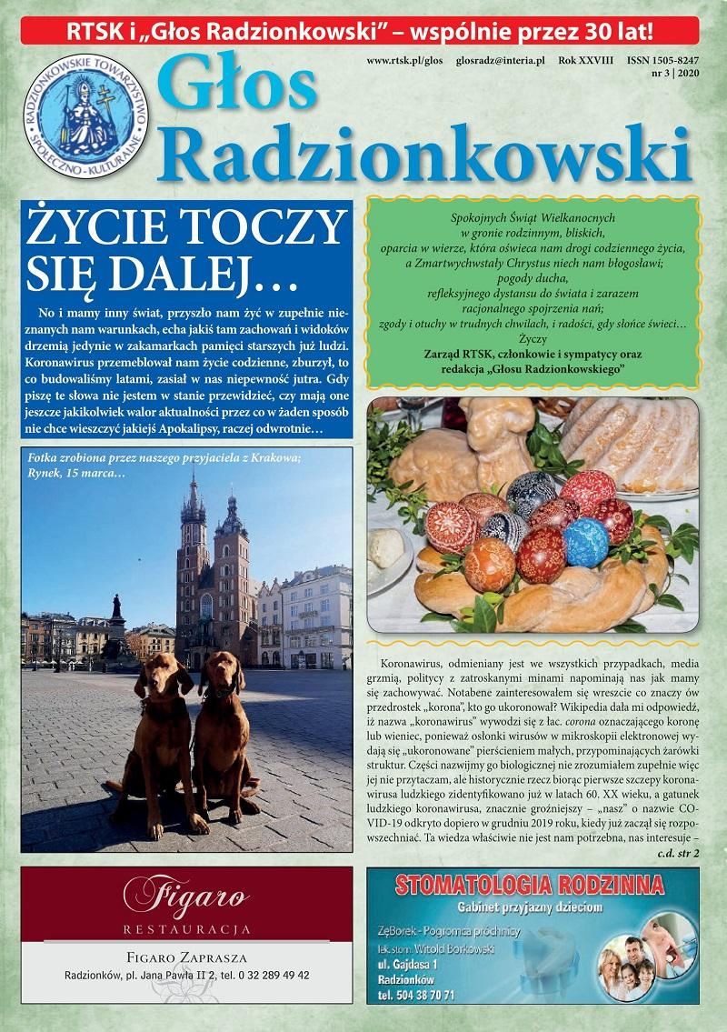 Głos Radzionkowski nr 3/2020