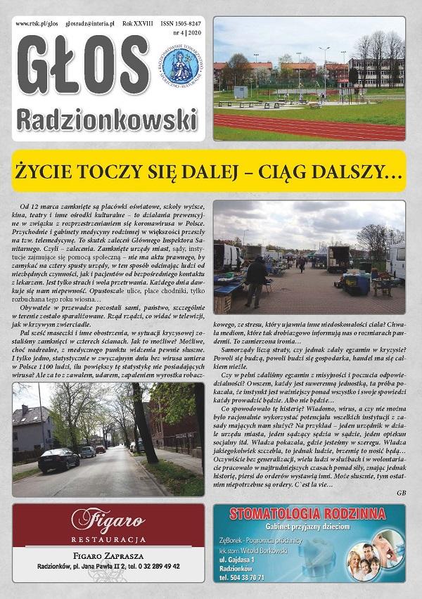 Głos Radzionkowski nr 4/2020