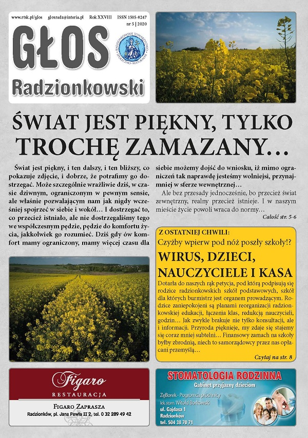 Głos Radzionkowski nr 5/2020