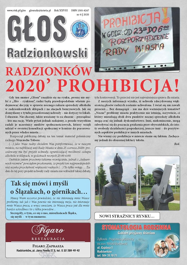 Głos Radzionkowski nr 6/2020