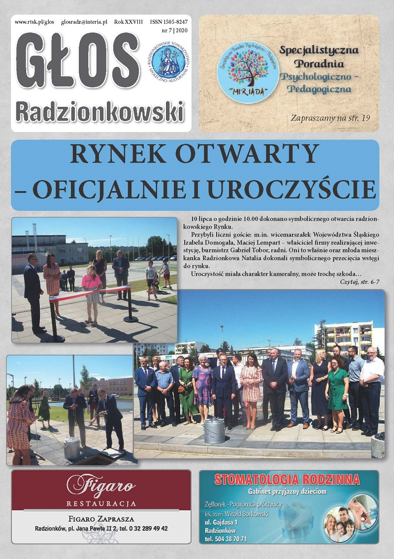 Głos Radzionkowski nr 7/2020