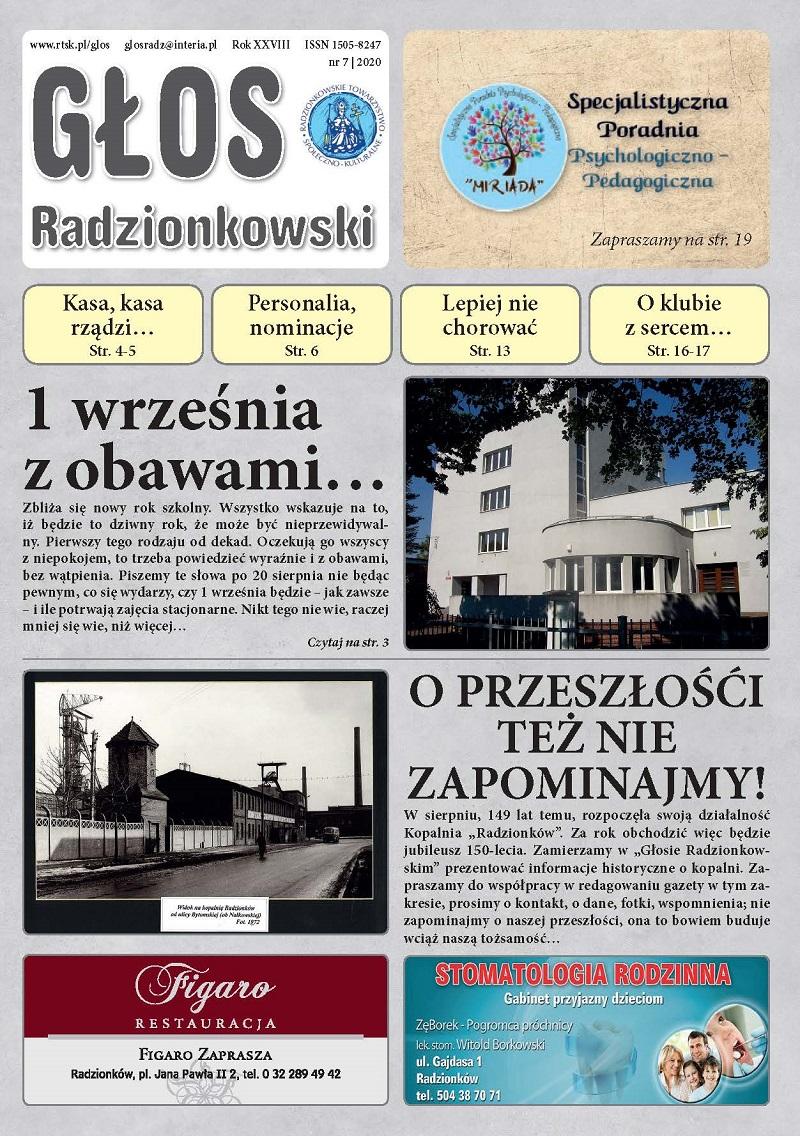 Głos Radzionkowski nr 8/2020