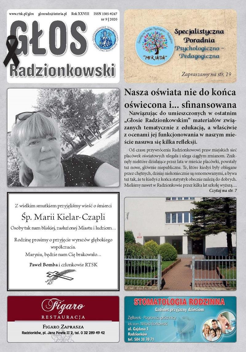 Głos Radzionkowski nr 9/2020