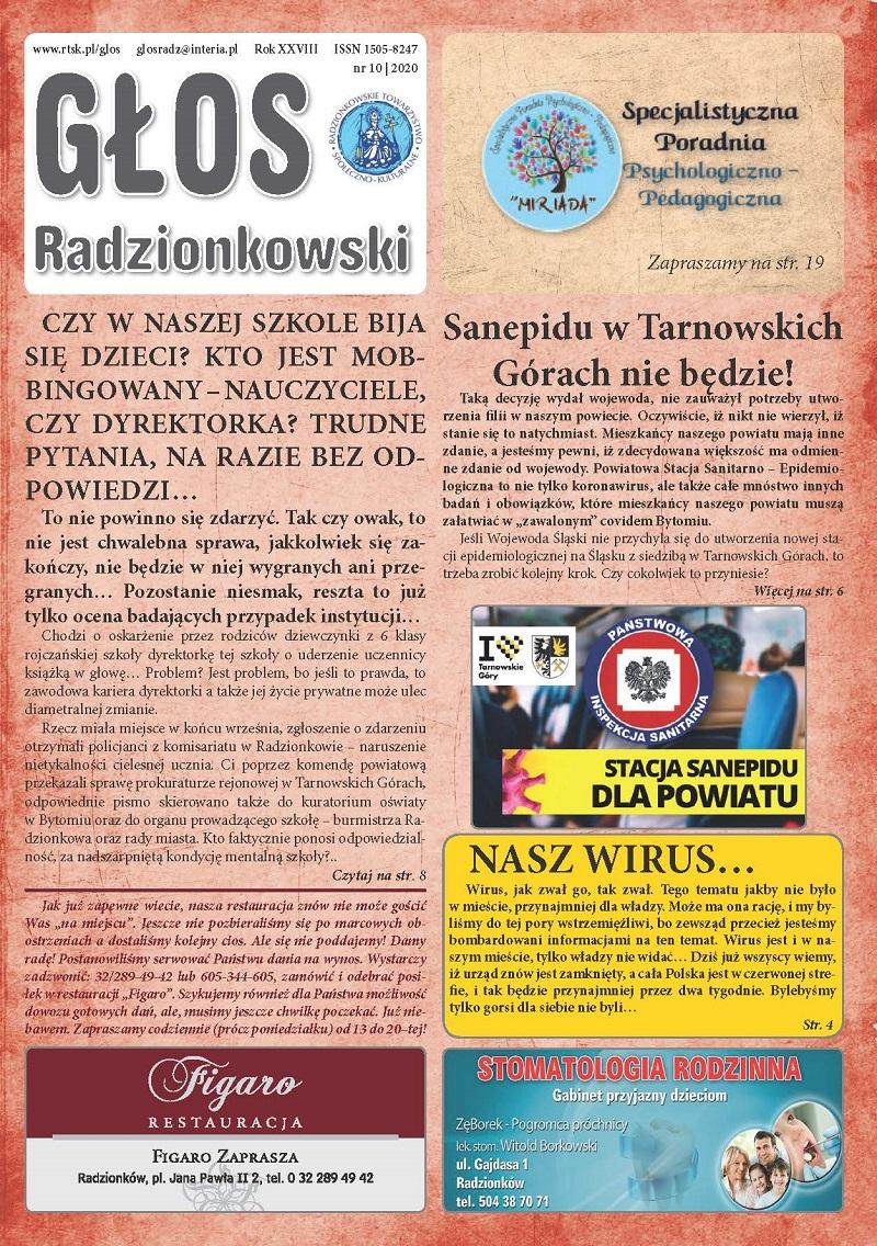 Głos Radzionkowski nr 10/2020