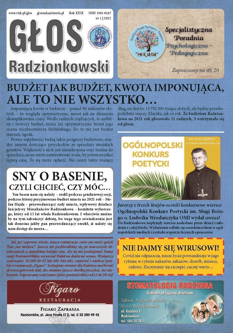 Read more about the article Głos Radzionkowski nr 1/2021