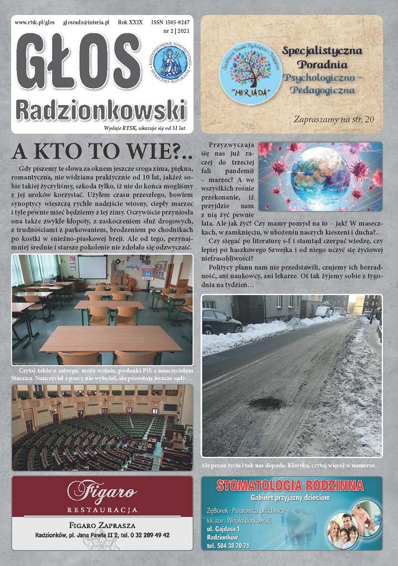 Read more about the article Głos Radzionkowski nr 2/2021