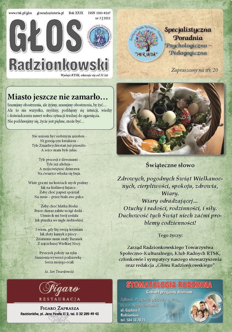 Read more about the article Głos Radzionkowski nr 3/2021